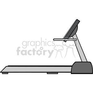 royalty free rf clipart illustration cartoon illustration of empty treadmill vector illustration with text isolated on white clipart. Commercial use image # 399643