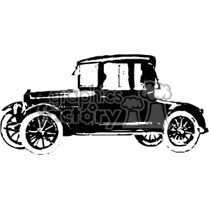 old vintage distressed cabriolet car retro vector design vintage 1900 vector art GF clipart. Royalty-free image # 402506