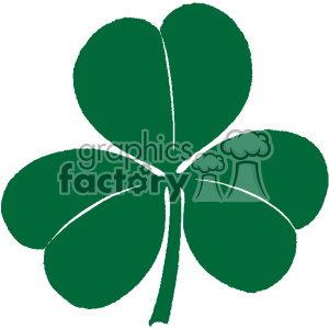 vintage irish shamrock clover vector vintage 1900 vector art GF clipart. Royalty-free icon # 402516