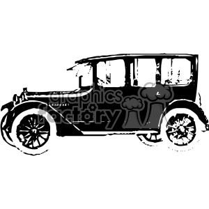 old vintage distressed sedan car retro vector design vintage 1900 vector art GF clipart. Royalty-free image # 402526