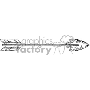 vintage arrow vector vintage 1900 vector art GF clipart. Royalty-free image # 402591