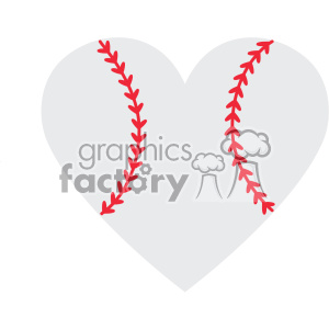 baseball love design svg cut file vector clipart. Royalty-free image # 403038