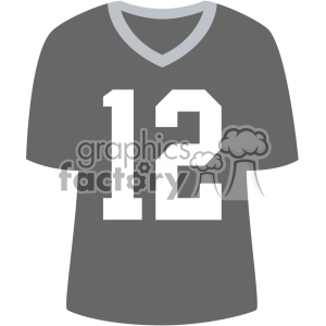 plain football jersey vector svg cut files art