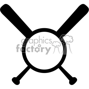 baseball bat monogram svg cut file vector