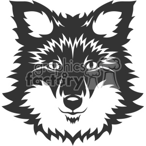 animal mascot logo wolf wolves dog