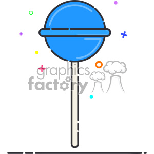 lollipop vector flat icon design clipart. Royalty-free image # 403178
