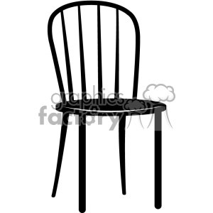 chair vector icon clipart. Royalty-free image # 403218