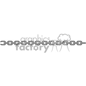 chain vector clipart. Royalty-free image # 403289