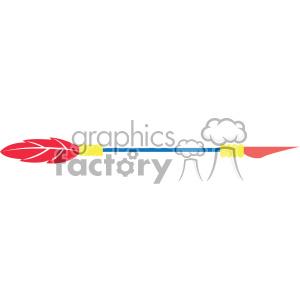 colored arrow vector design 07