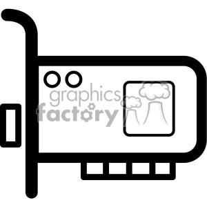 gpu icon clipart. Commercial use image # 403821