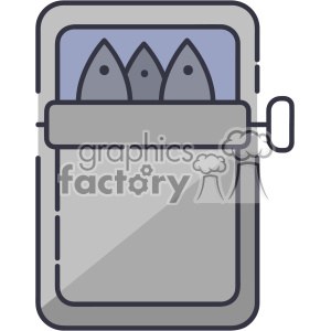 sardines vector clip art images clipart. Royalty-free image # 403856