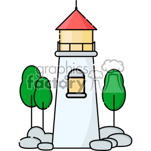 Lighthouse vector clip art images clipart. Royalty-free image # 403898