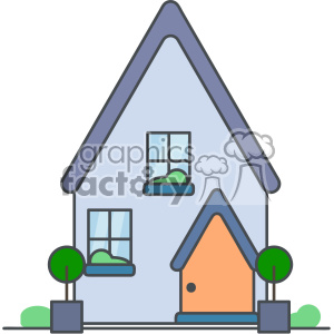 House vector clip art images clipart. Royalty-free image # 403905
