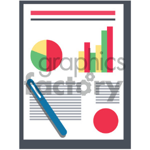 vector icon of document clipart. Commercial use image # 404043