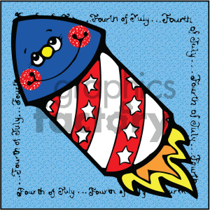 4th+of+july america USA patriotic cartoon
