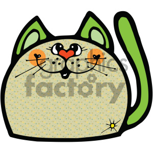 cartoon clipart gumdrop animals 007 c clipart. Royalty-free image # 404874