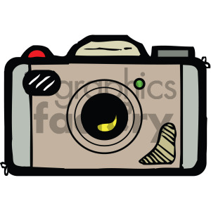 cartoon camera vector clipart clipart. Commercial use image # 405146