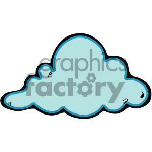 cloud art clipart. Commercial use image # 405224