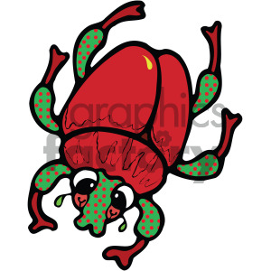 cartoon stink bug clipart clipart. Royalty-free image # 405260