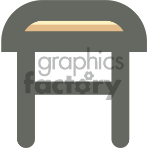 furniture icons household table bar+stool stool
