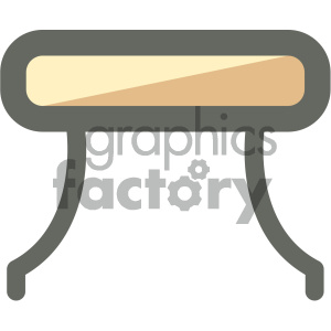 furniture icons household table