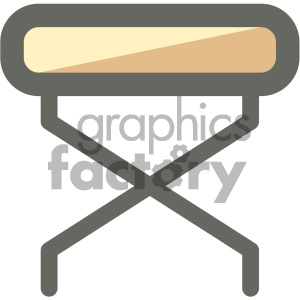 massage bed furniture icon clipart. Royalty-free icon # 405675
