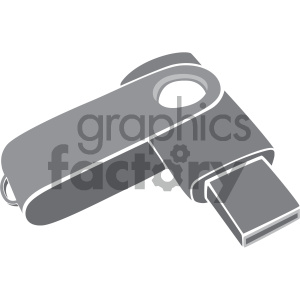 usb drive vector art