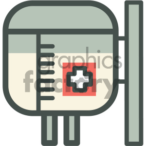 life support medical vector icon clipart. Royalty-free image # 405947