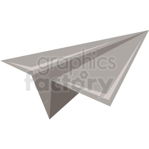 paper airplane icon clipart. Royalty-free image # 406026