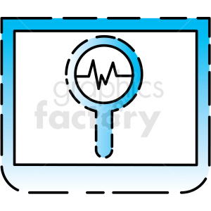 statistical analyst icon clipart. Royalty-free image # 406160