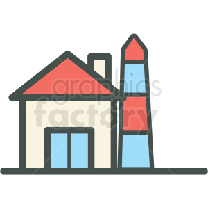 building vector icon clipart. Royalty-free image # 406462