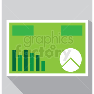 profit and lost vector icon clip art clipart. Royalty-free image # 406605