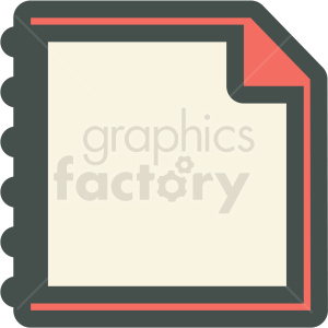 paper vector icon clipart. Commercial use image # 406846