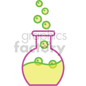 potion bottle vector game art icons clipart. Royalty-free image # 407104
