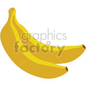 icons fruit food banana