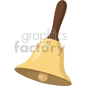 christmas bell icon clipart. Royalty-free image # 407291
