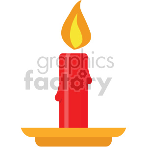 christmas candles icon clipart. Royalty-free image # 407331