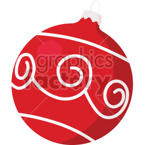 christmas ornament icon clipart. Royalty-free image # 407343