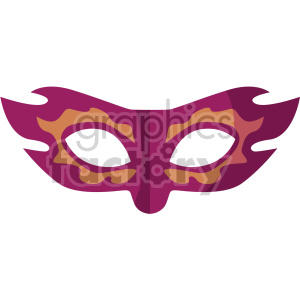 masquerade mask no background clipart. Royalty-free icon # 407413