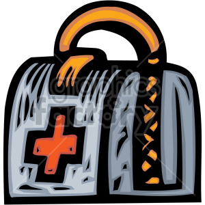 medical doctor bag clipart. Royalty-free image # 149473