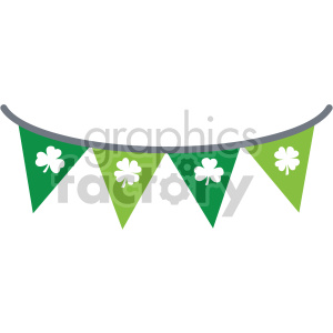 st patricks day banner no background clipart. Commercial use image # 407695
