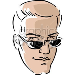 cool man clipart. Royalty-free image # 157377