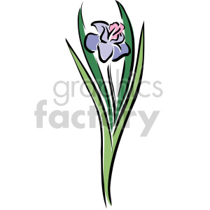 flower clipart. Royalty-free image # 151175