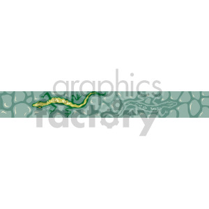 lizard on wall clipart. Royalty-free image # 167020