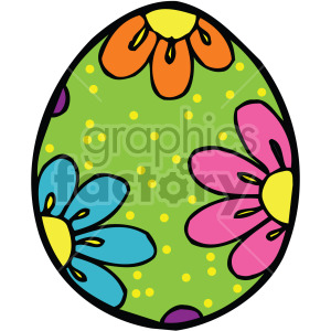 easter egg 006 c clipart. Commercial use image # 407870