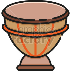 Bongo Drum clipart. Royalty-free image # 407944