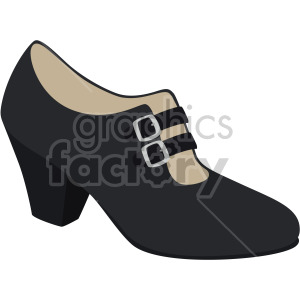 cuban heels shoes clipart. Royalty-free image # 408143