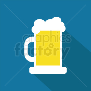 beer icon vector clipart. Royalty-free image # 408458