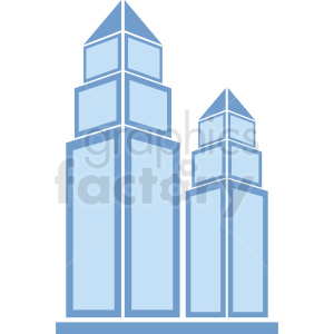 city buildings vector clipart. Royalty-free image # 408601