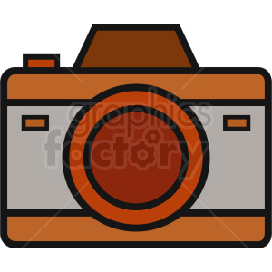 vector camera icon clipart. Royalty-free image # 408687